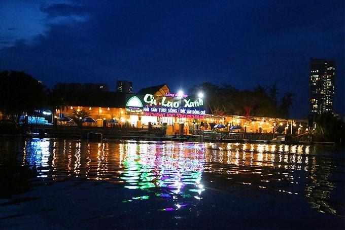 Cù Lao Xanh - Ẩm thực trên sông
