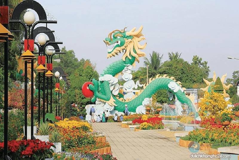 Check-in tại khu du lịch Bửu Long