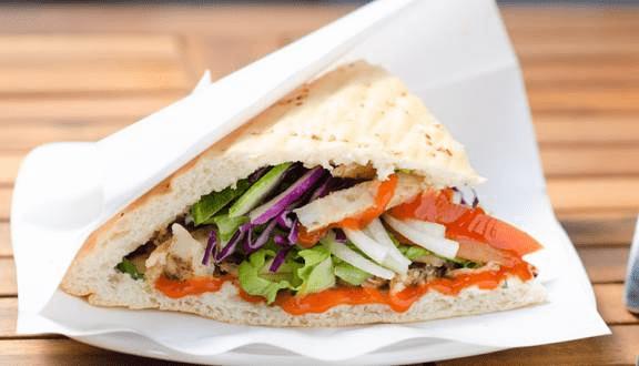 Hình ảnh bánh mì Kebab Tâm Thủy
