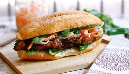 Bánh mì thịt Lương Phan