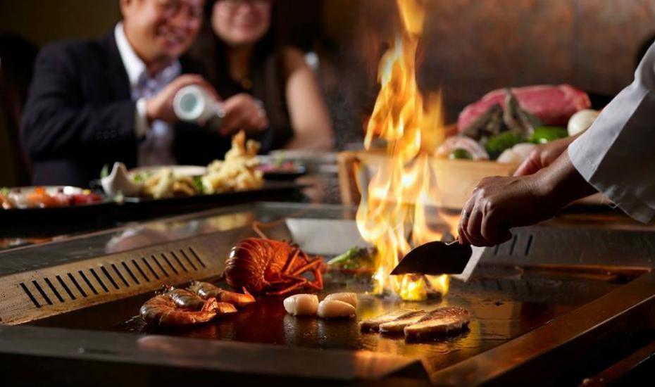 Nhà hàng Kobe Teppanyaki