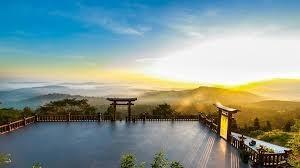 Cổng trời tiên cảnh ở Đà Lạt