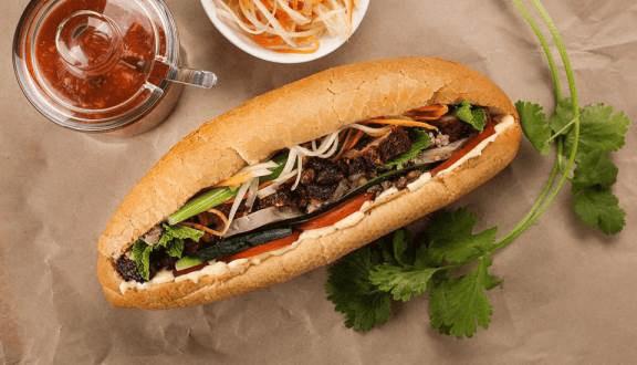 Hình ảnh bánh mì Hoàng Yến
