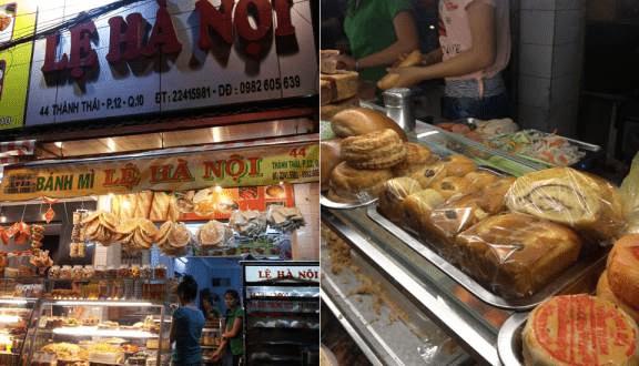 Hình ảnh bánh mì Lệ Hà Nội