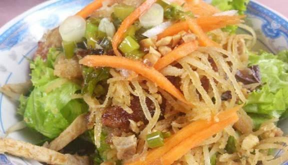 Quán bún thịt nướng chợ Kim Biên