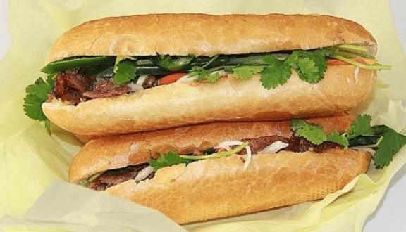Hình ảnh quán bánh mì Hạnh