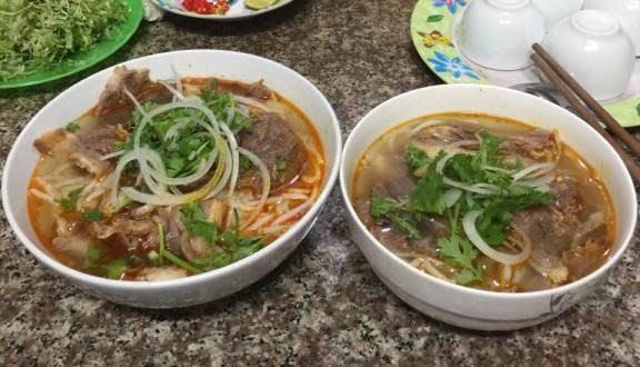 Bún bò Huế Phú Vang