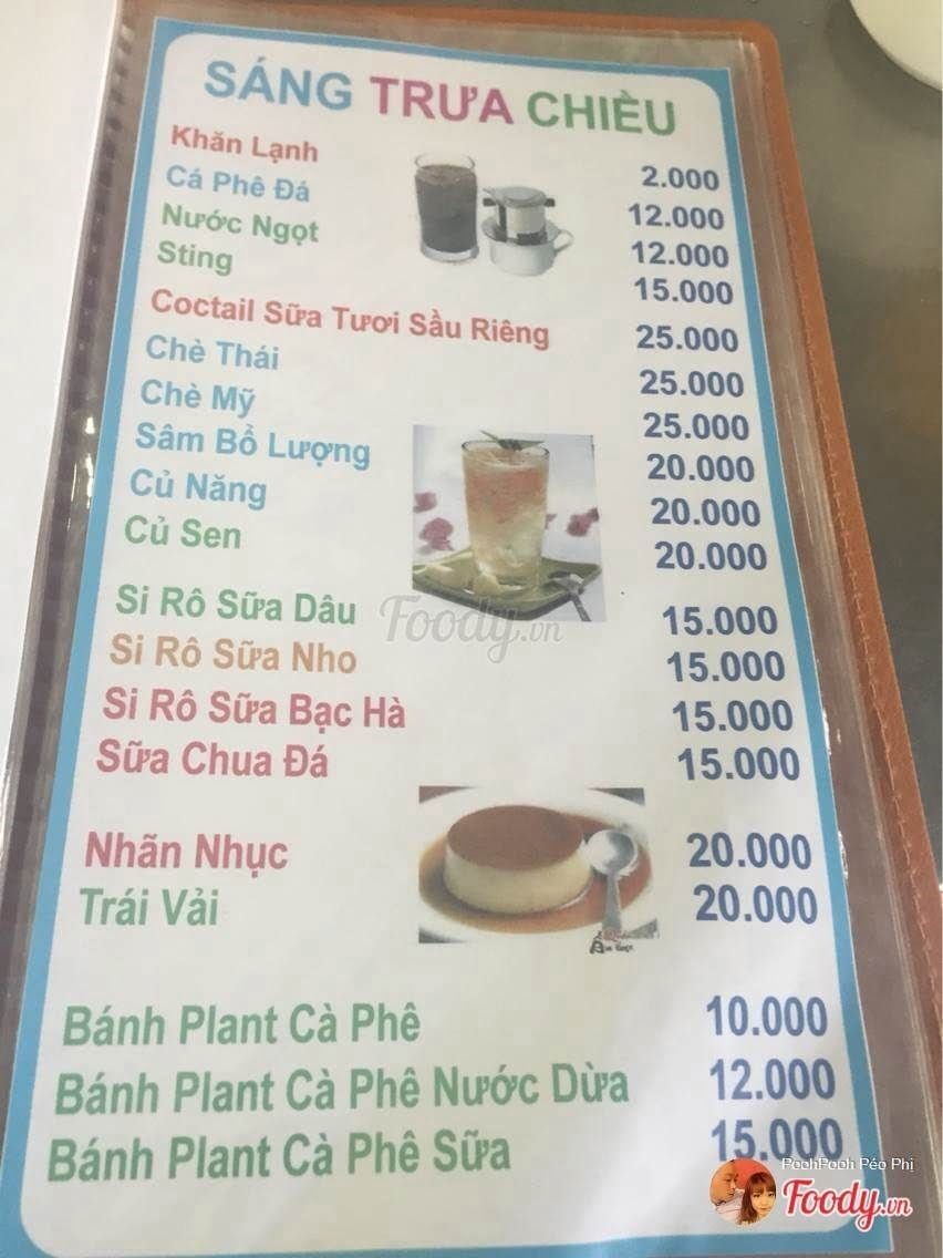 Hình menu