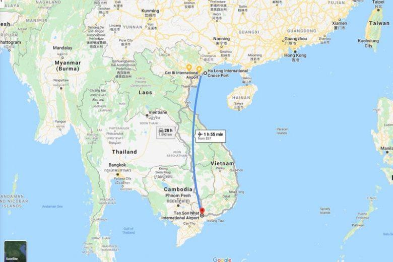 Làm thế nào để đi du lịch Sài Gòn Hạ Long?
