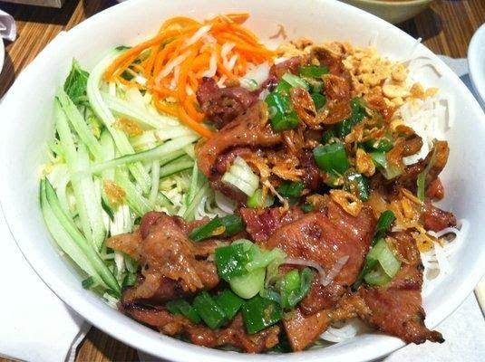 Quán bún thịt nướng Nhi Nhi