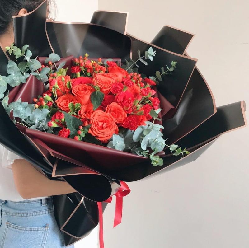 cửa hàng hoa tươi 9x