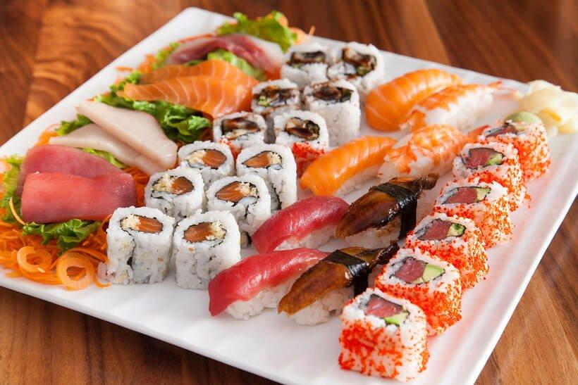 Sushi 88 - top 10 món ăn ngon quận 7