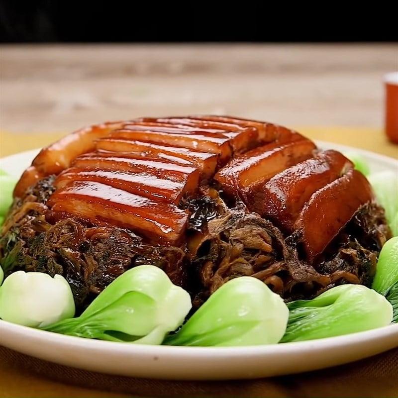 Khau nhục - Món ăn đặc sản của Bắc Giang