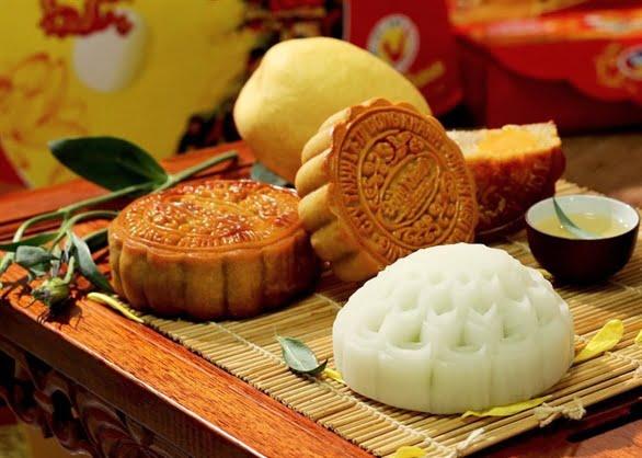 bánh trung thu nhân đậu xanh gốc Hoa