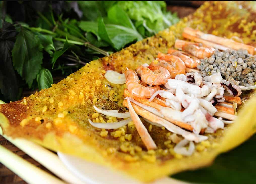Bánh xèo Long Hải- Món ăn ngon tại Vũng Tàu