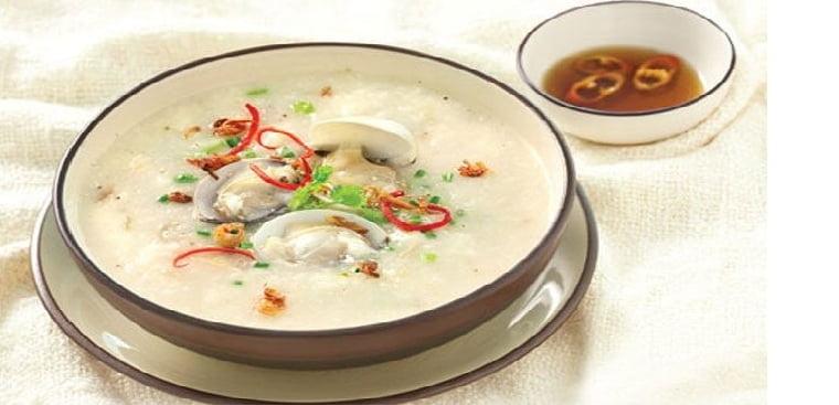 Cháo nghêu - 10 món ăn ngon Nghệ An