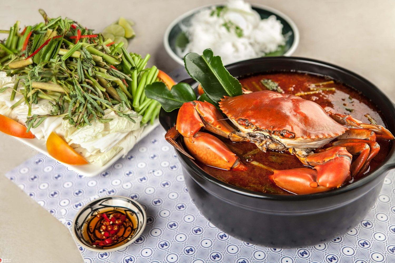 Lẩu cua đất mũi - 10 món ăn ngon quận Gò Vấp