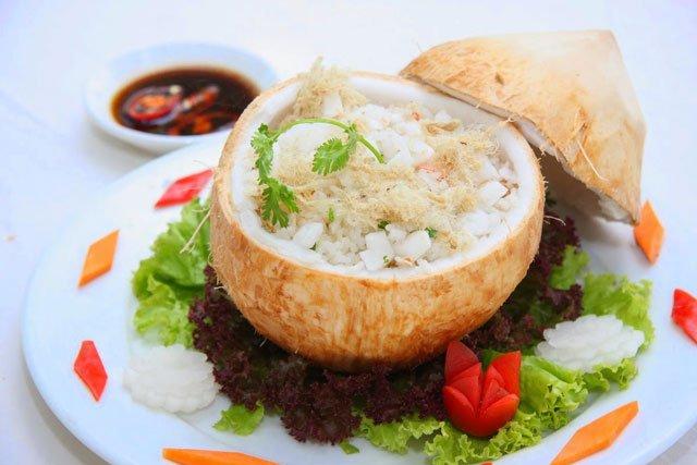 Cơm dừa - Món ăn ngon tại Bến Tre