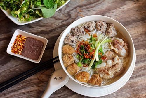 Bún mọc - 10 món ăn ngon Ninh Bình