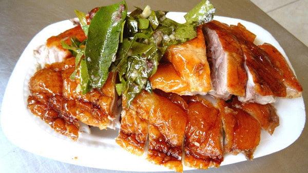 Vịt quay 7 vị - Món ăn ngon tại Cao Bằng