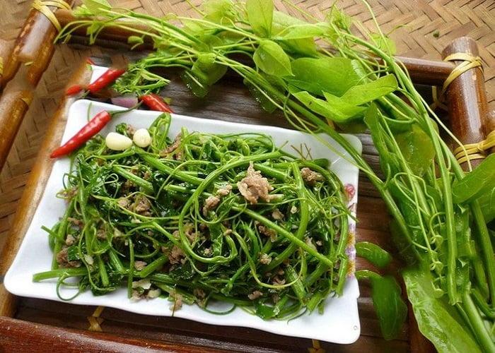 Rau dạ hiến - Món ăn ngon tại Cao Bằng