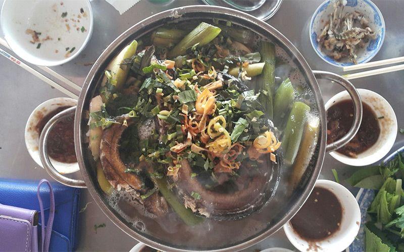 Cháo môn lươn và ếch