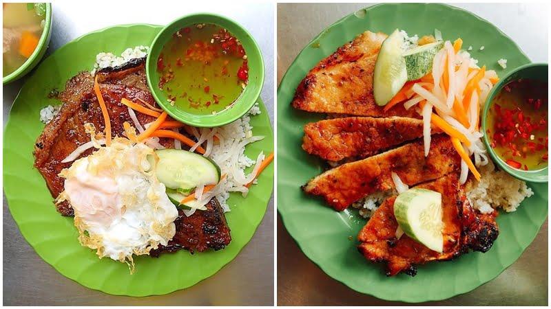 Cơm tấm 3 Ghiền - 10 món ăn ngon quận Phú Nhuận