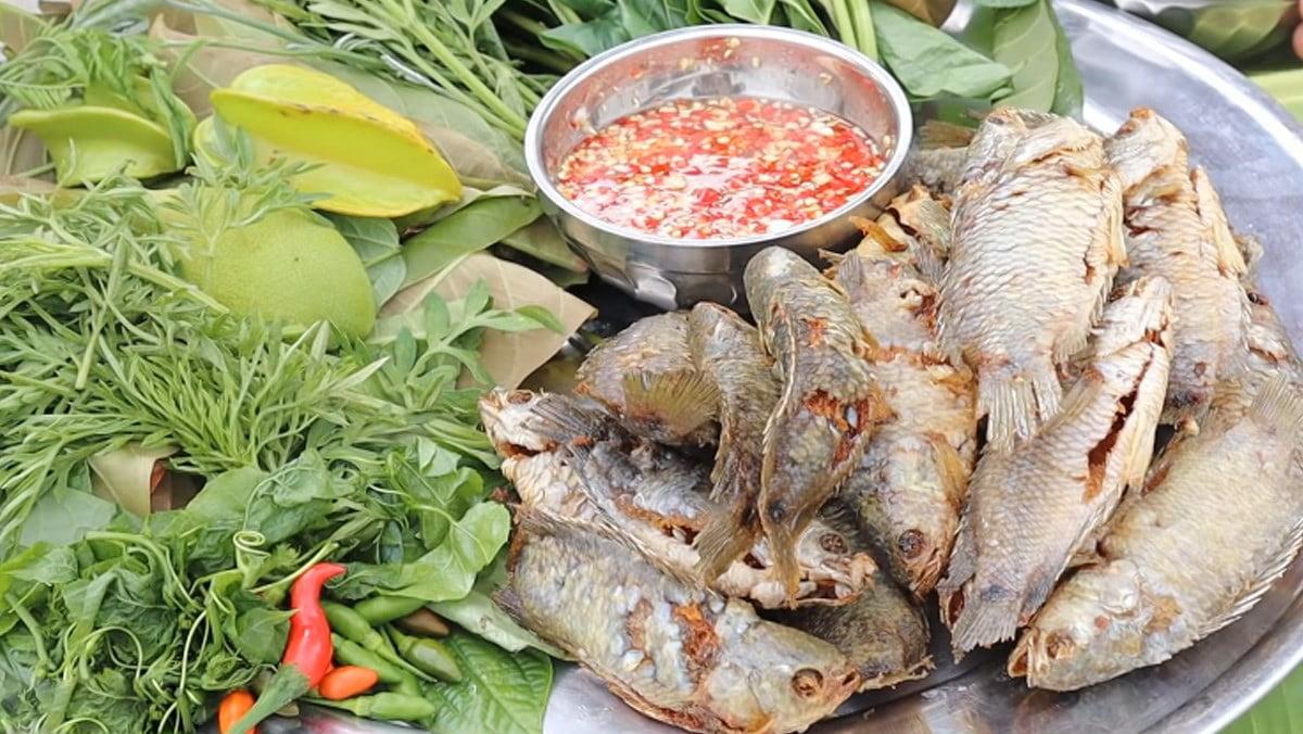 Cá rô chiên xù - Món ăn ngon tại Cà Mau