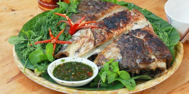 Cá nướng (Pa Pinh Tộp)