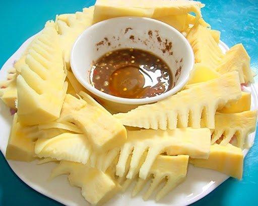 Măng đắng - Món ăn ngon tại Điện Biên