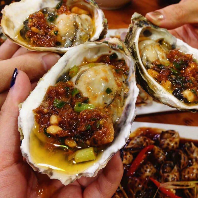 Hàu nướng - 10 món ăn ngon quận Bình Thạnh