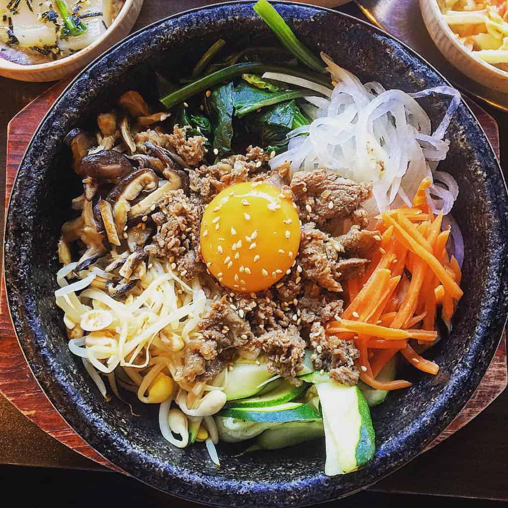 Bimbimbap Korean Food