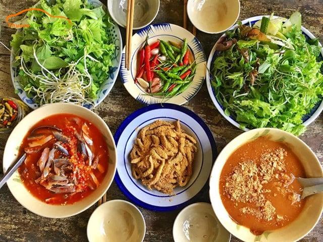 Gỏi cá Nam Ô - Món ăn ngon tại Đà Nẵng