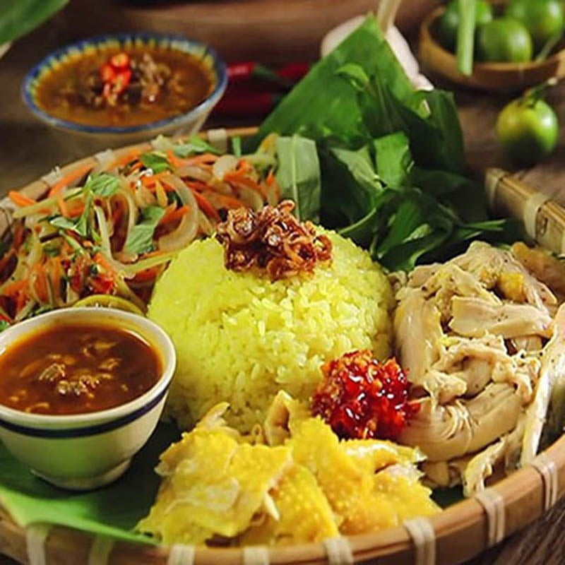 Cơm gà - Món ăn ngon tại Đà Nẵng