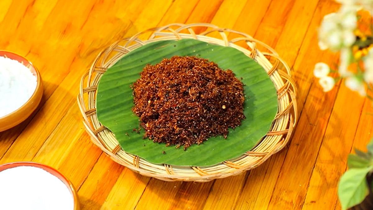 Muối kiến vàng - Món ăn ngon tại Gia Lai