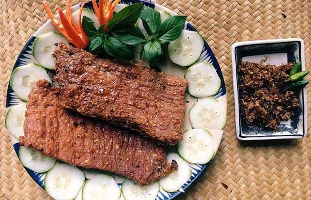 Bò khô một nắng - Món ăn ngon tại Gia Lai