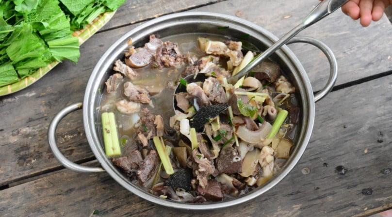 Thắng cố - Món ăn ngon tại Hà Giang