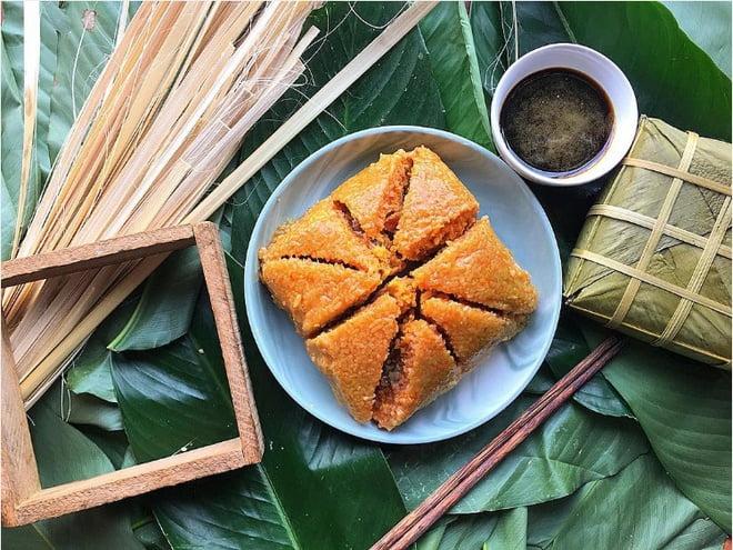 Bánh chưng làng Đầm