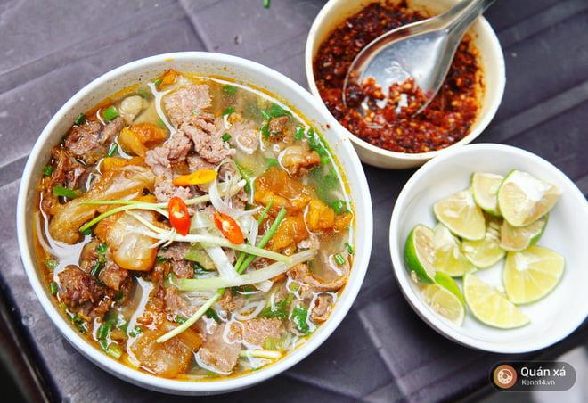 Bún sốt vang - Món ăn ngon tại Hà Nam