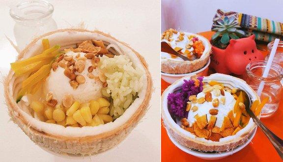 Kem xôi dừa Khap Khun