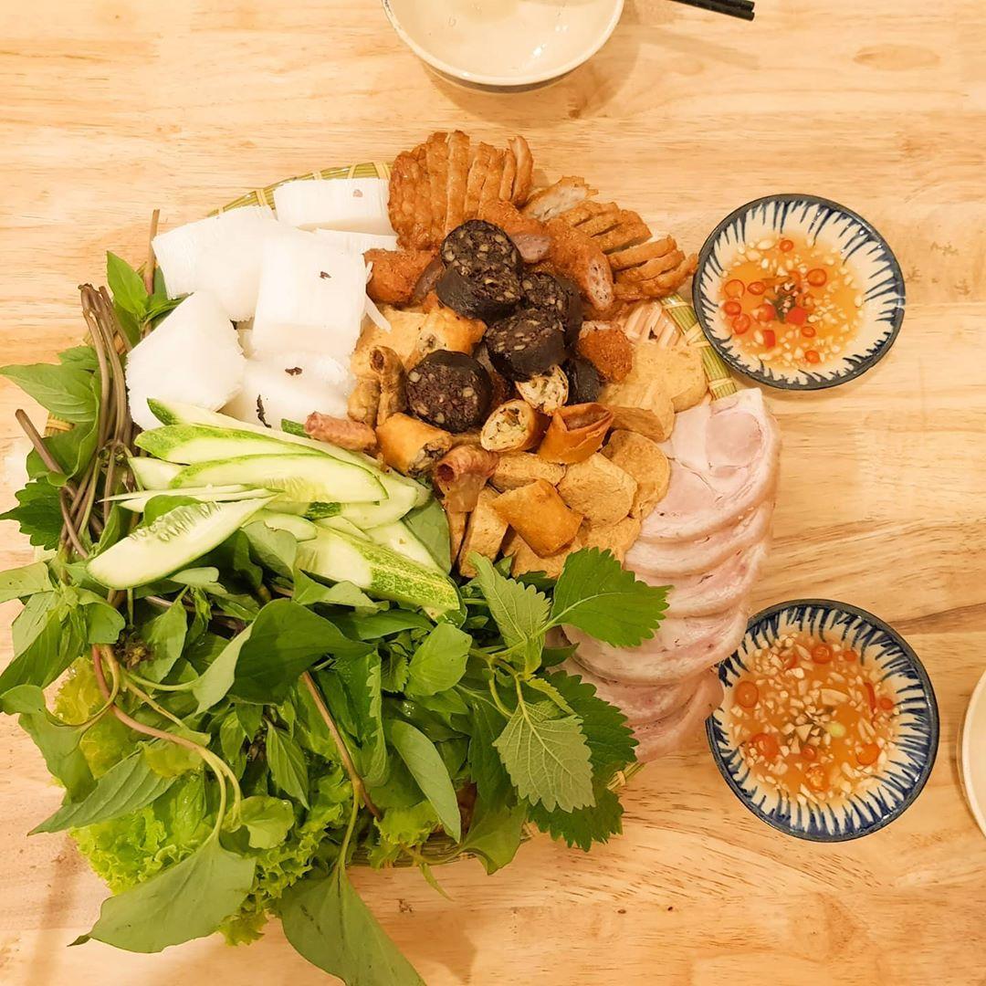 Bún đậu Bống - 10 món ăn ngon quận Thủ Đức