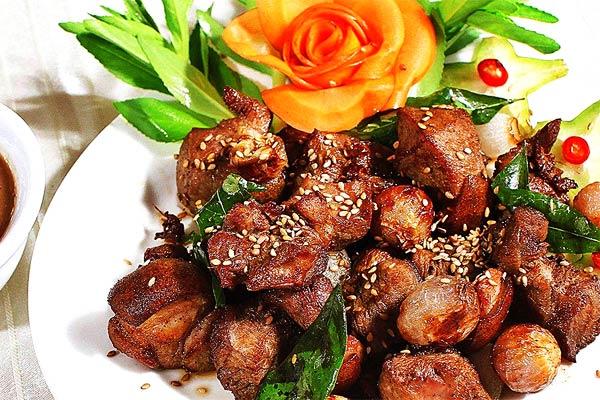 Thịt dê núi