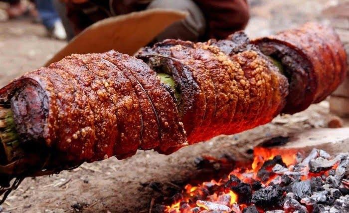 Thịt quay đòn - Món ăn ngon tại Hà Tây