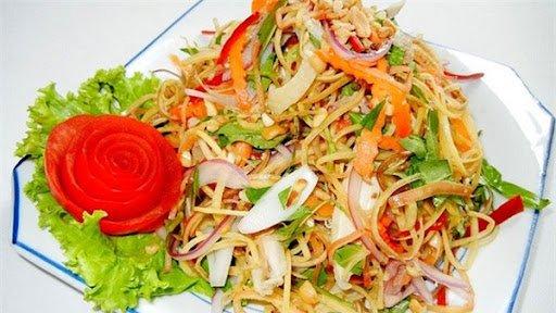 Nhút - 10 món ăn ngon Nghệ An