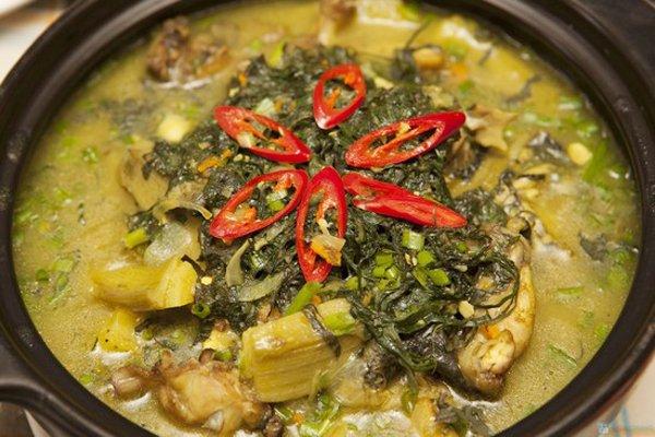 Xáo chuối - 10 món ăn ngon Phú Thọ