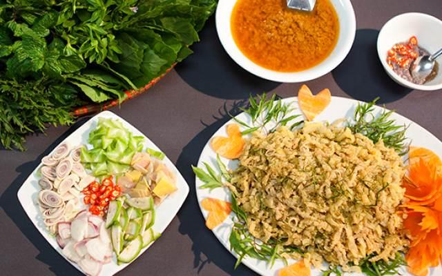 Chẻo nhệch - 10 món ăn ngon Thanh Hóa