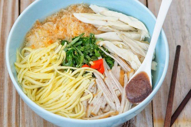 Bún thang - 10 món ăn ngon Thái Bình