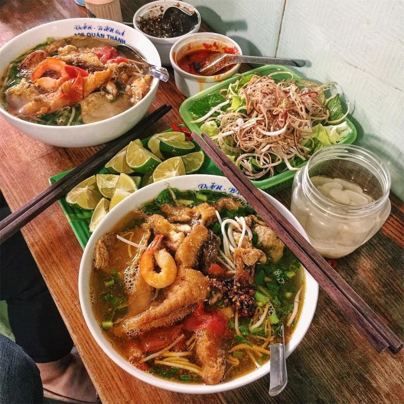 Bún cá cay - 10 món ăn ngon Quảng Ninh