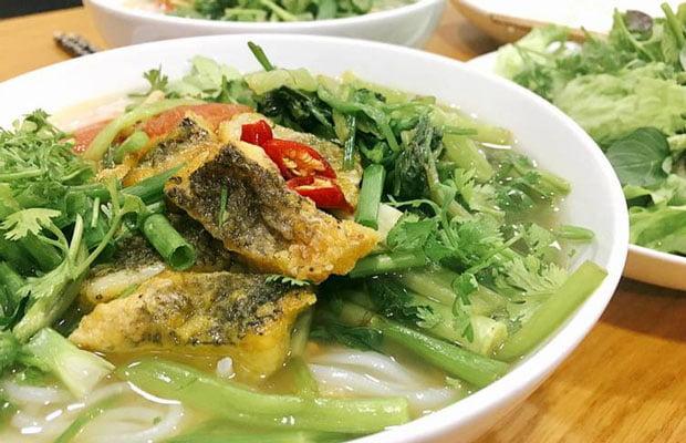 Bún cá rô đồng - Món ăn ngon tại Hải Dương