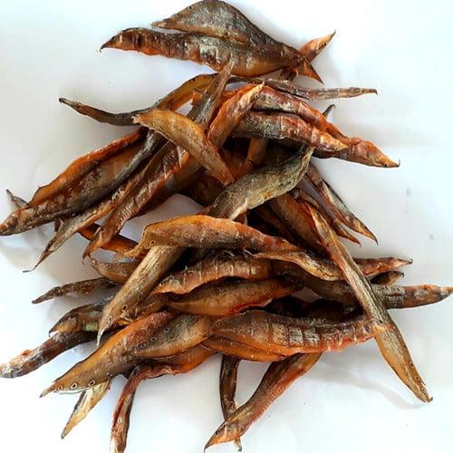 Khô cá chạch - Món ăn ngon tại Hậu Giang